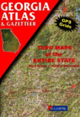 Georgia Atlas and Gazetteer 9780899332109