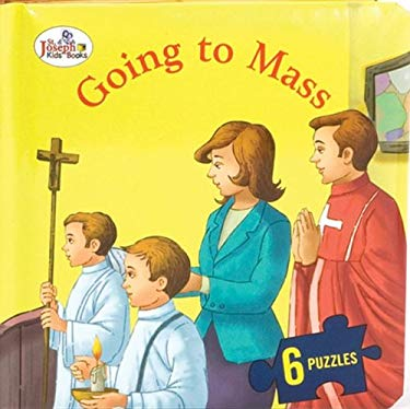Going to Mass (St. Joseph Beginner Puzzle Book) 9780899429892