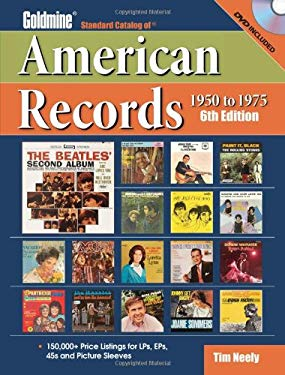 Goldmine Standard Catalog of American Records, 1950-1975 [With DVD] 9780896896604