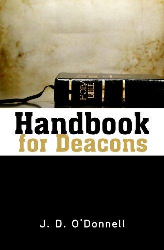 Handbook for Deacons 9780892650118