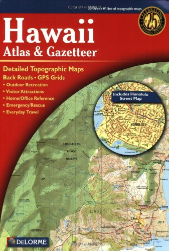 Hawaii Atlas & Gazetteer 9780899333441