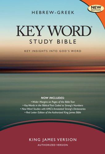 Hebrew-Greek Key Word Study Bible-KJV 9780899577456