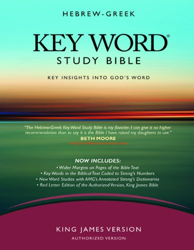 Hebrew-Greek Key Word Study Bible-KJV 9780899577494