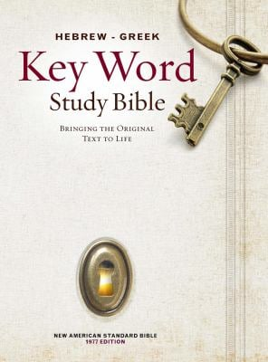 Hebrew-Greek Key Word Study Bible-NASB 9780899577500