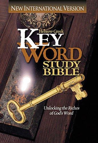 Hebrew-Greek Key Word Study Bible-NIV 9780899577005