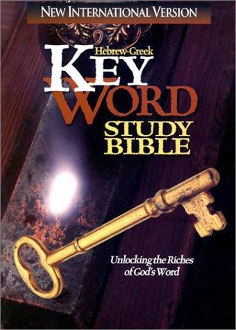 Hebrew-Greek Key Word Study Bible-NIV 9780899577043