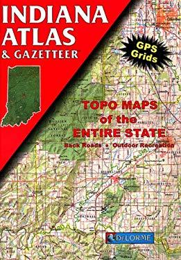 Indiana Atlas and Gazetteer 9780899332116