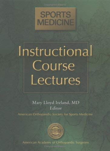 Instructional Course Lectures: Sports Medicine 9780892033553