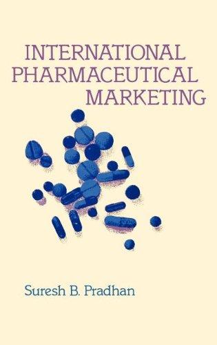 International Pharmaceutical Marketing. 9780899300092