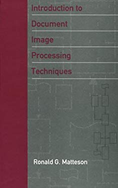 Introduction to Document Image Processing Techniques 9780890064924