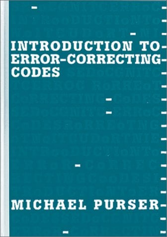 Introduction to Error Correcting Codes 9780890067840