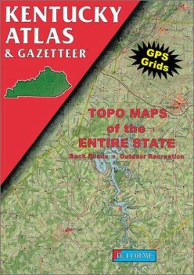 Kentucky Atlas and Gazetteer 9780899332161