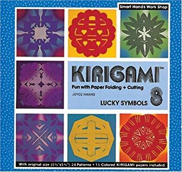 Kirigami 8- Lucky Symbols 9780893467913
