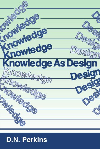 Knowledge as Design 9780898598636