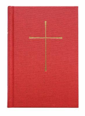 Le Livre de La Priere Commune: Red Hardcover 9780898691054