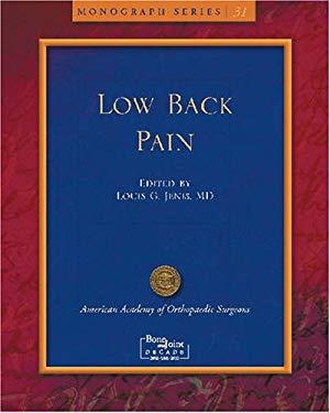 Low Back Pain 9780892033744