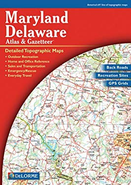 Map-MD/del Atlas & Gazetteer 4 9780899332796