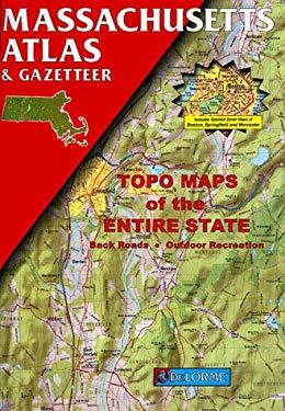 Massachusetts Atlas & Gazetteer 9780899332208