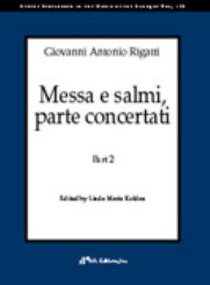 Messa E Salmi, Parte Concertati 9780895795298