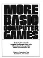 More Basic Computer Games 9131335