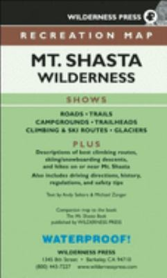 Mt. Shasta Wilderness 9780899973906