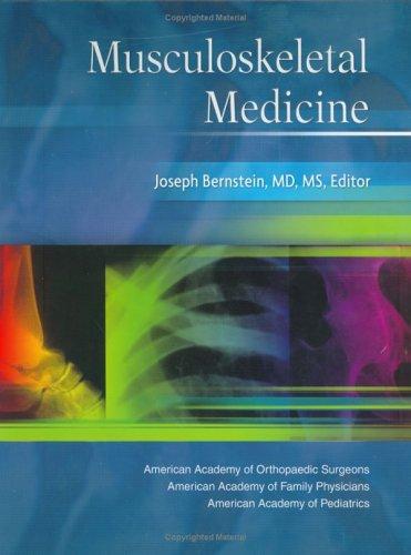 Musculoskeletal Medicine 9780892032945