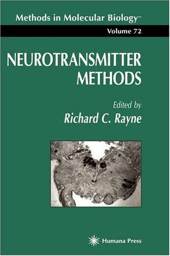 Neurotransmitter Methods 9780896033948