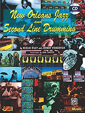 New Orleans Jazz and Second Line Drumming: Book & CD [With CD] 9780897249218