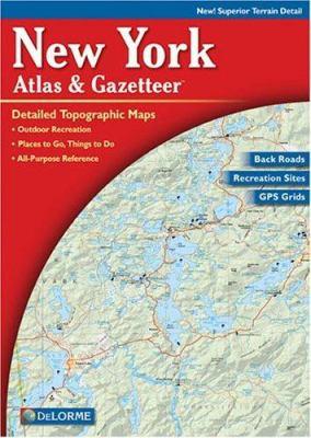 New York Atlas & Gazetteer 9780899332758