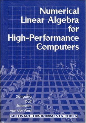 Numerical Linear Algebra for High-Performance Computers 9780898714289