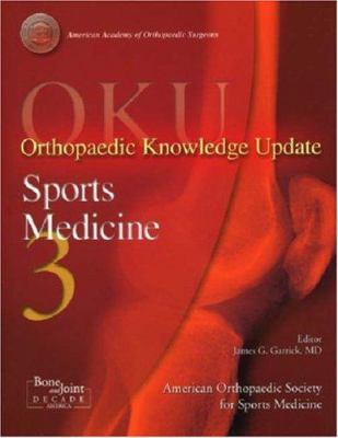 Oku: Sports Medicine 3: Orthopaedic Knowledge Update 9780892033324
