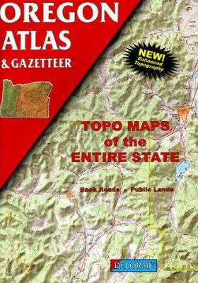Oregon Atlas & Gazetteer 9780899332581
