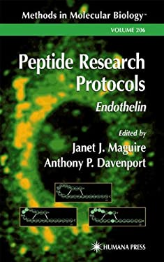 Peptide Research Protocols: Endothelin 9780896039933
