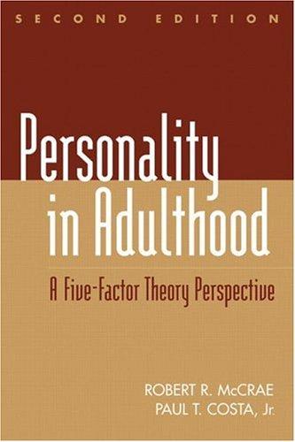 Personality in Adulthood 9780898625288