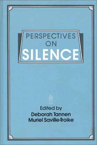 Perspectives on Silence 9780893912550