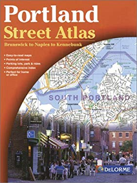 Portland Street Atlas 2nd Ed - Delorme 9780899334073