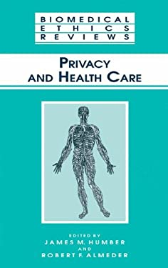 Privacy and Health Care 9780896038783
