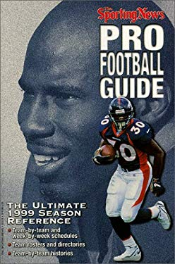 Pro Football Guide: The Ultimate 1999 Season Reference 9780892046133