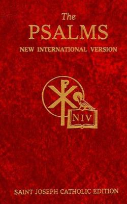 Psalms-NIV St. Joseph Catholic 9780899426600