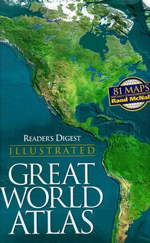 Reader's Digest Illustrated Great World Atlas 9780895779885