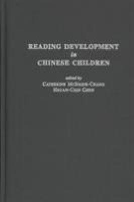 Reading Development in Chinese Children 9780897898096