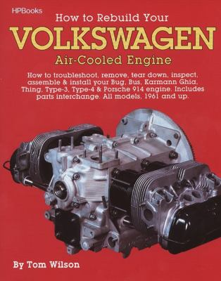 How to Rebuild Your VW Aircooled Engines Hp255 9780895862259