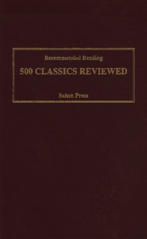 Recommended Reading: 500 Classics Reviewed 9780893569112