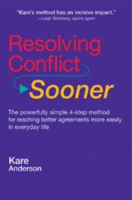 Resolving Conflict Sooner 9780895949769