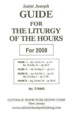 Saint Joseph Guide for the Liturgy of the Hours 9780899424774