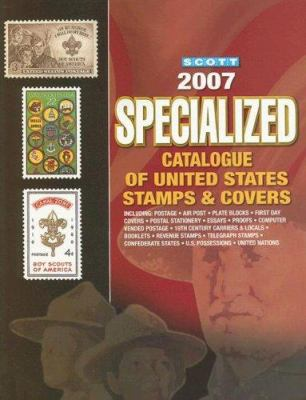 Scott Specialized Catalogue of United States Stamps & Covers 9780894873812