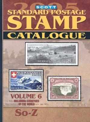 Scott Standard Postage Catalogue: Vol. 6: Countries Solomon Islands-Z 9780894873379