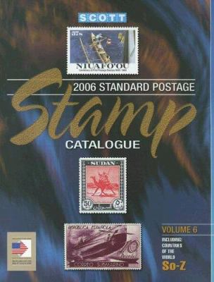 Scott Standard Postage Stamp Catalogue: Countries of the World So-Z 9780894873560