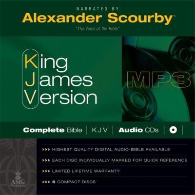 Scourby Complete Bible-KJV 9780899575957