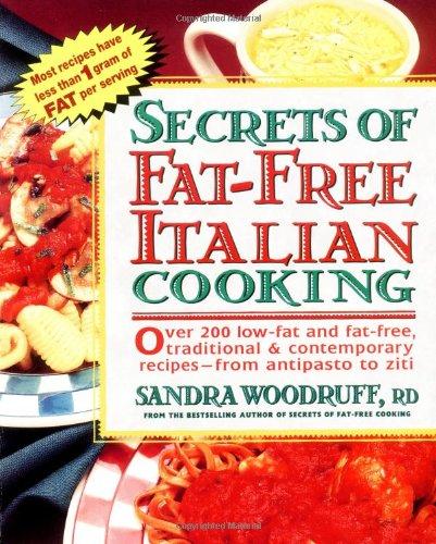 Secrets of Fat-Free Italian Cooking 9780895297488